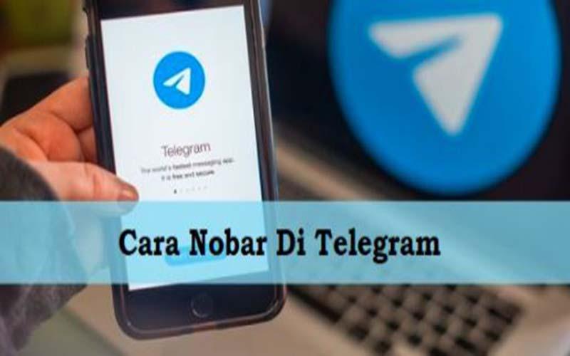 Cara Nobar Di Aplikasi Telegram, Mudah Dan Seru