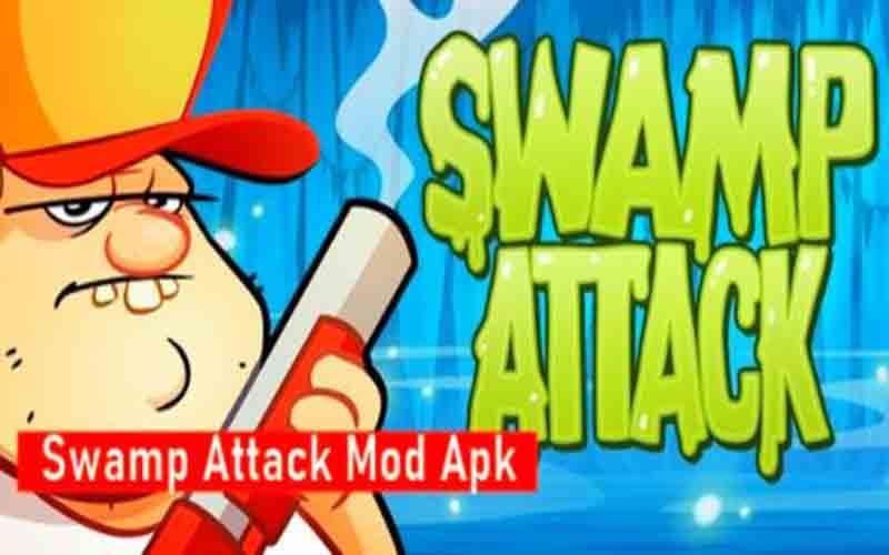 Cara Pasang Swamp Attack Mod Apk