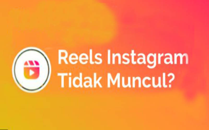 Fitur Reels Instagram Tidak