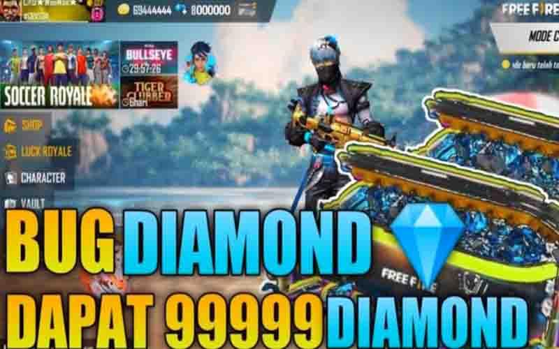 Cara Dapatkan Diamond Gratis FF 99999 Terbaru