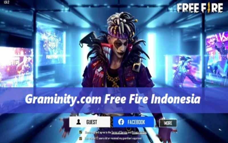 Cara Gunakan Graminity com Free Fire Indonesia, Situs Hack Diamond Gratis