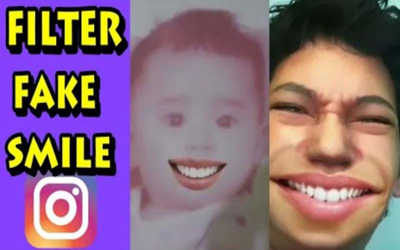 Cara Menggunakan Filter Fake Smile Di Instagram