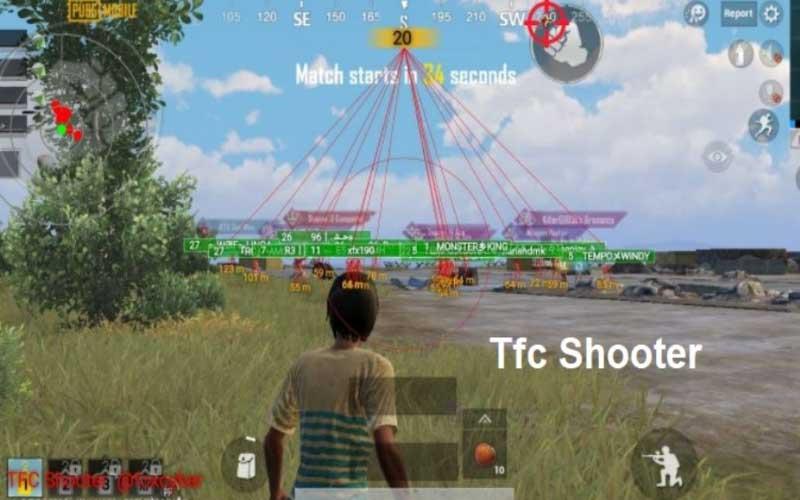 Cara Menggunakan TFC Shooter Apk PUBG Hack ESP