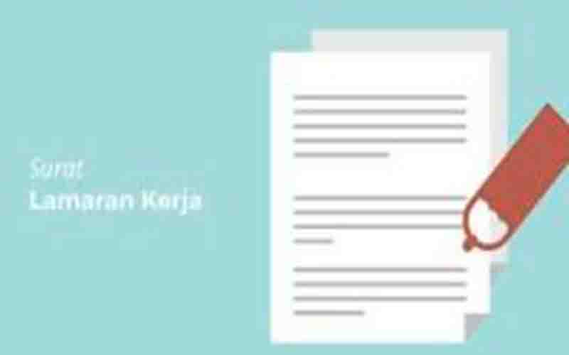 Contoh Surat Lamaran Kerja Yang Benar Dan Lengkap Dengan Template