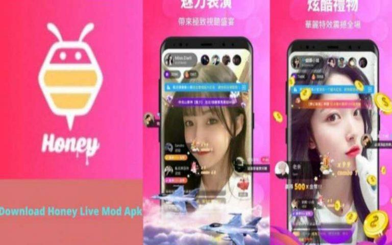 Donwload Honey Live Apk Mod Terbaru