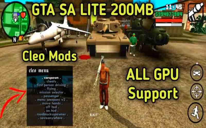 Download GTA SA Lite Terbaru 2021
