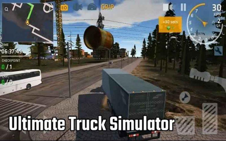 Link Unduh Truck Simulator Ultimate Mod Apk Terbaru