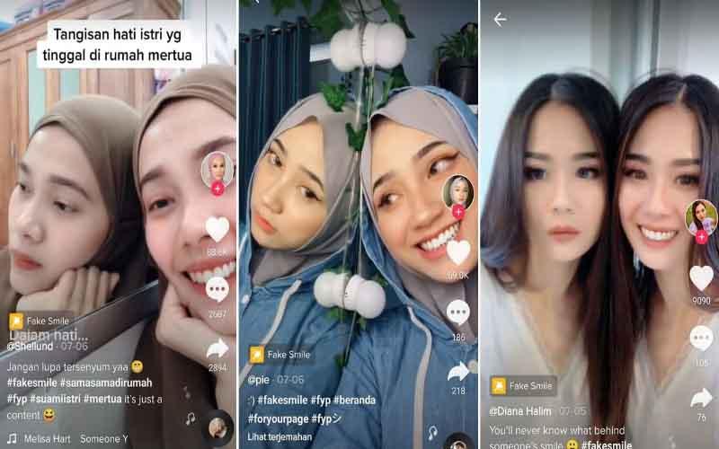 Menggunakan Filter Fake Smile Di Instagram
