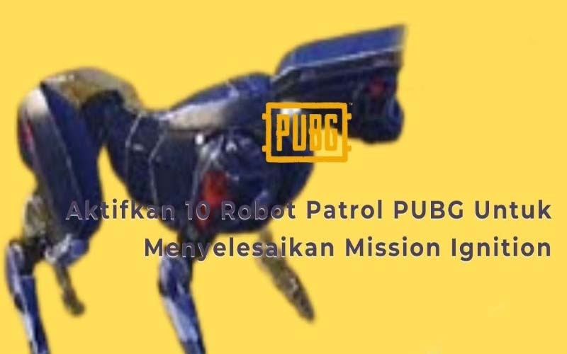 Menyelesaikan Misi Robot Patroli PUBG