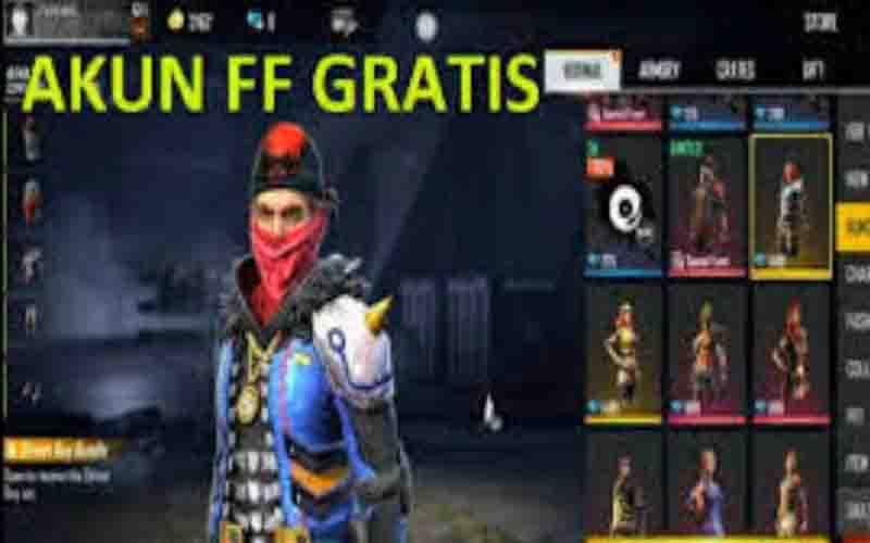 Ratusan Kumpulan Akun FF Sultan Gratis Terbaru