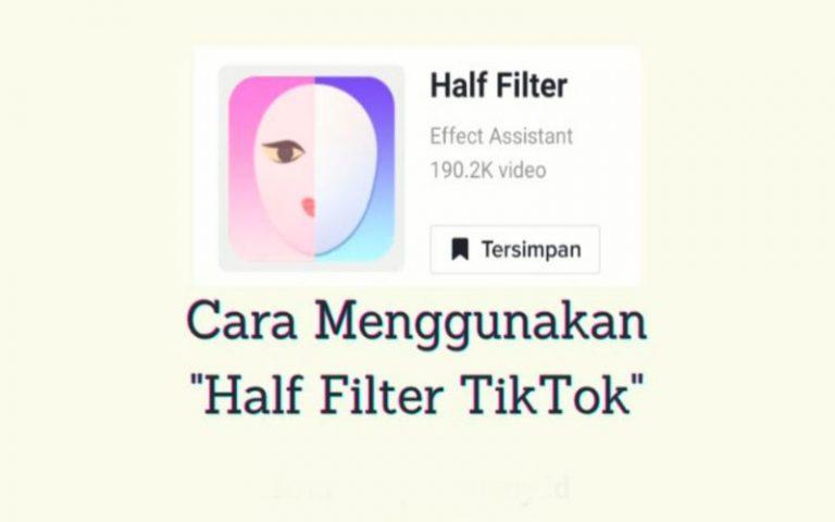 Download Half Filter Tiktok Viral
