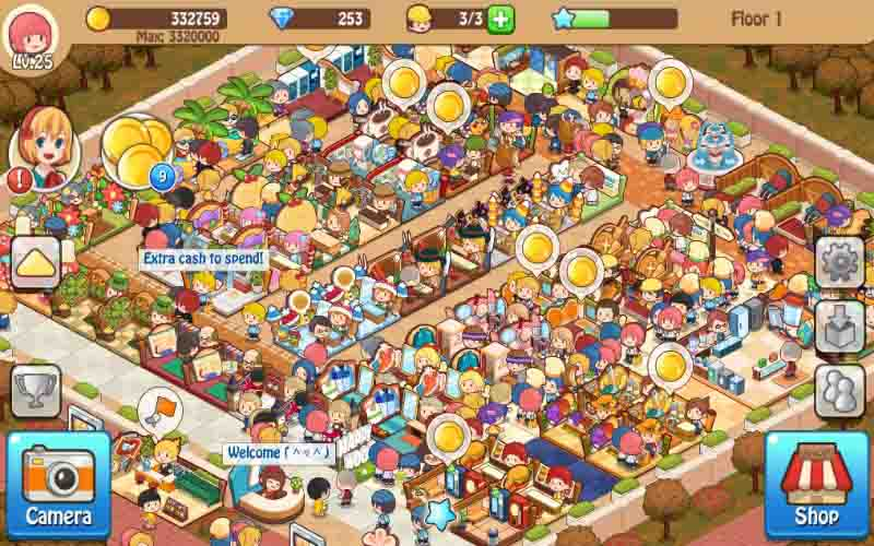 Download Happy Mall Story Mod Apk