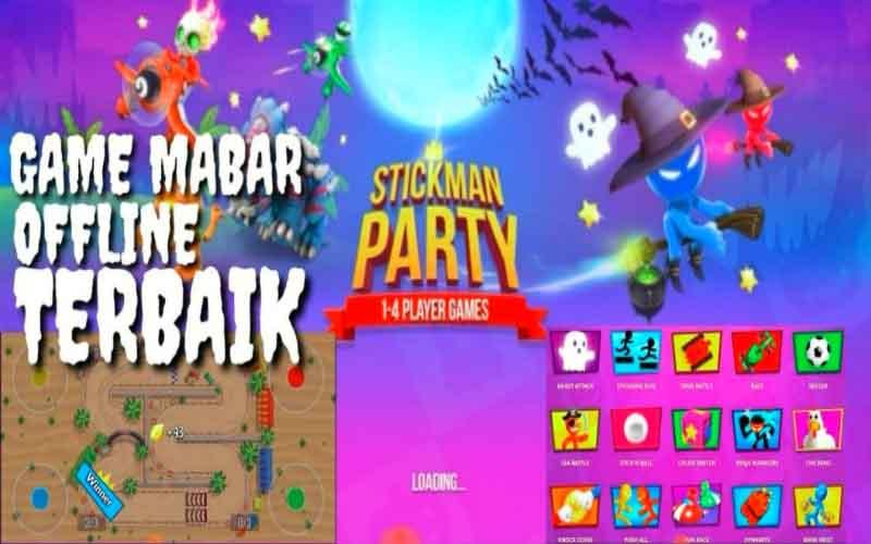 Link Download Stickman Party Mod Apk Versi Terbaru Untuk Android