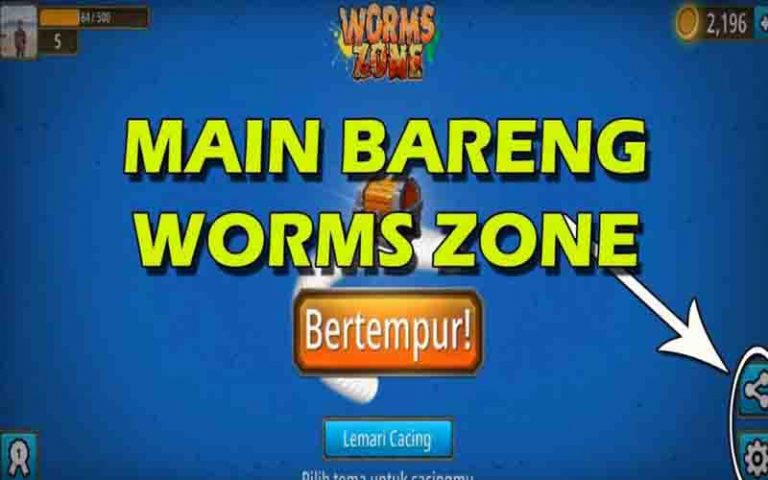 Tips Mabar Worms Zone Mudah Dan Seru